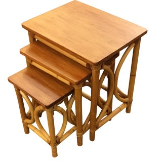 Paul Frankl Pyramid Nesting Tables - Set of 3