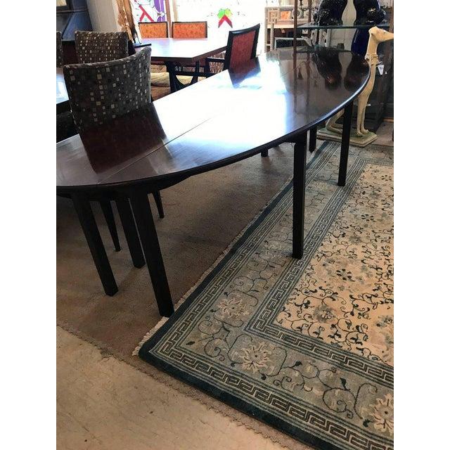 Mahogany Georgian Style Gate Leg Dining Table - Image 9 of 10