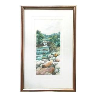 Lee Hirano Stream Watercolor Painting