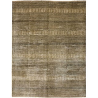 Savannah Hand Knotted Area Rug - 8' x 10'3""