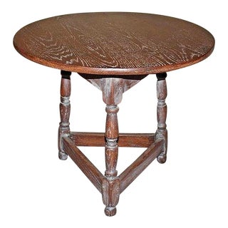 Italian Round End Table