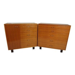 "Mid Century Modern ""Primavera"" Cabinets by George Nelson for Herman Miller"