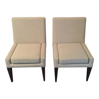 Avery Boardman Dining Chairs - a Pair