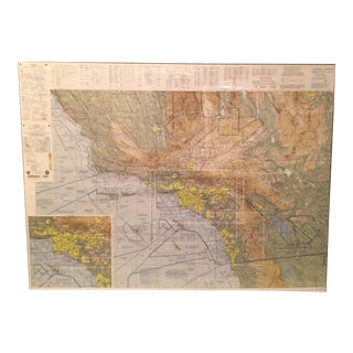 Flight Over LA Map