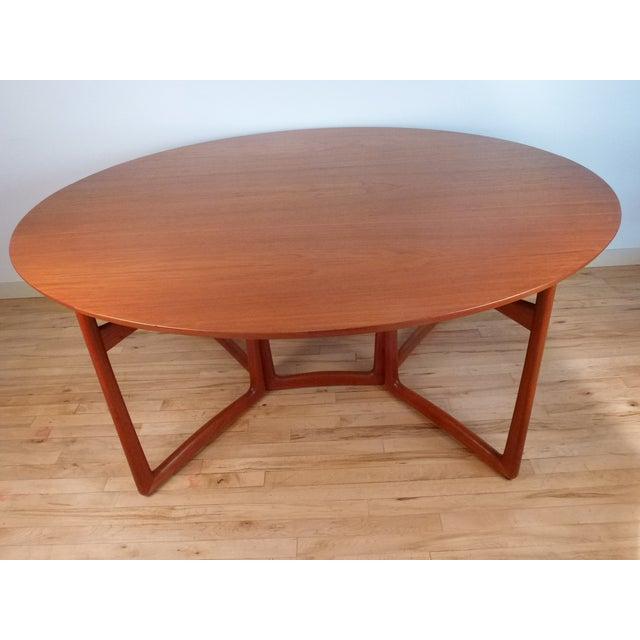 Image of Danish Modern Peter Hvidt Dining Table