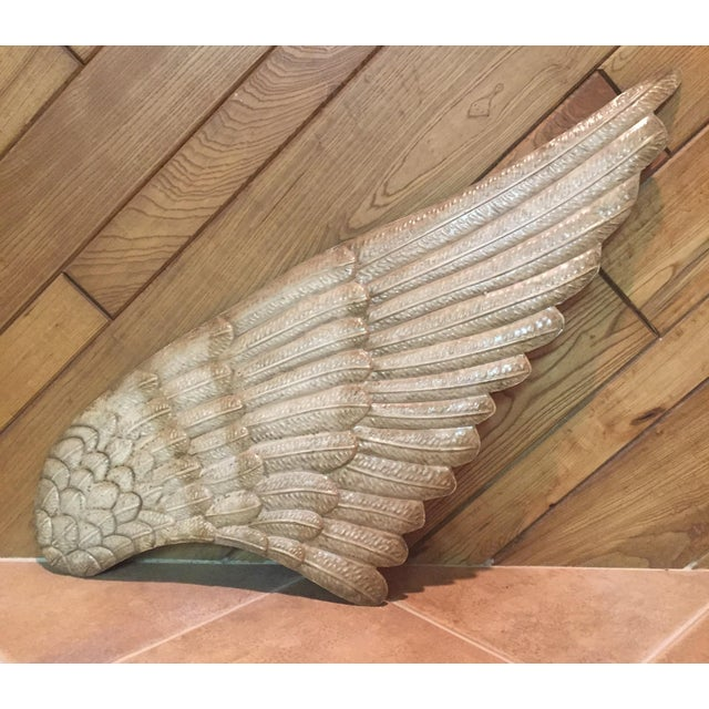 Angel Wing Metal Wall Art - Image 2 of 3
