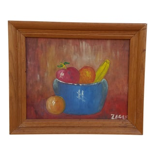Still Life With Fruit Oil Painting by Zager