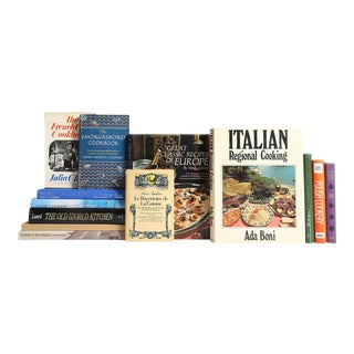 Traditions in European Cooking Book Collection - Set of 13