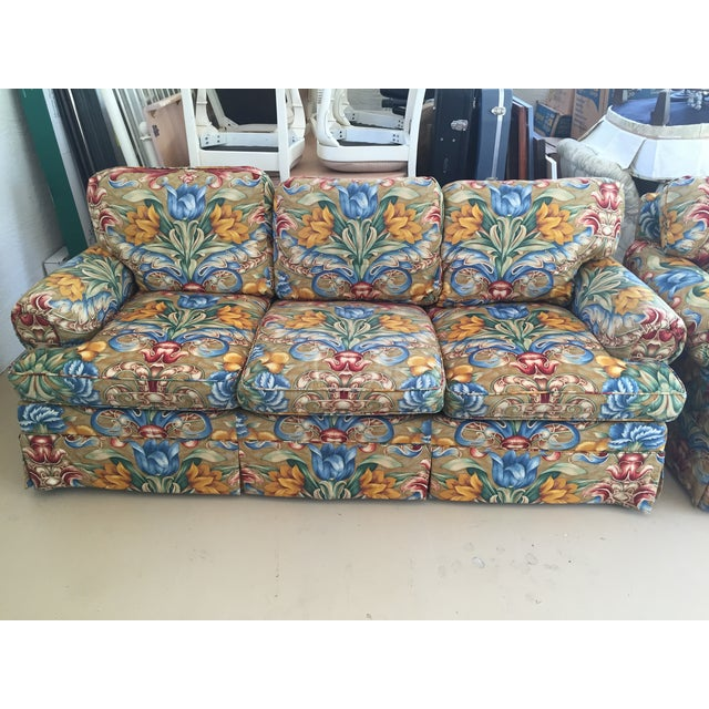 Custom Upholstered Couch - Image 2 of 3