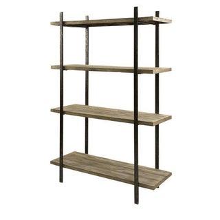 Imax Ik Distressed Wood & Iron Display Shelf