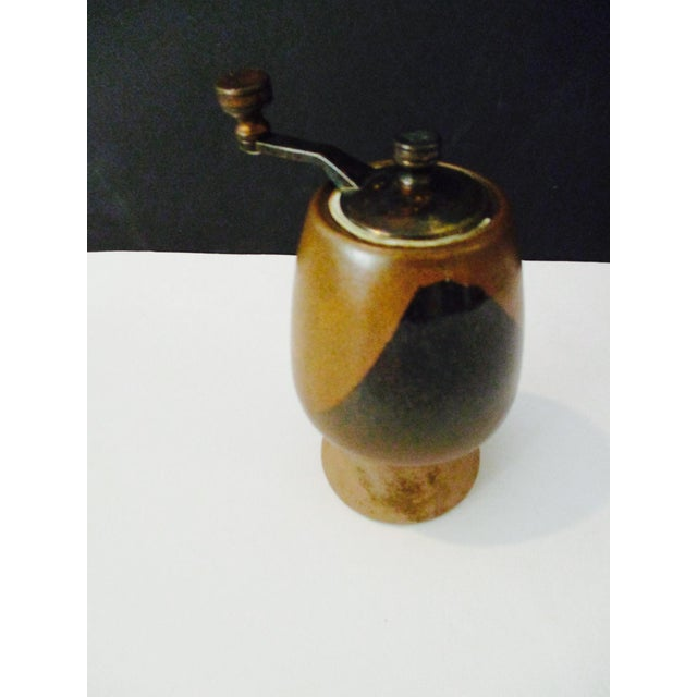 Image of David Cressey Pottery Salt Shaker & Pepper Grinder