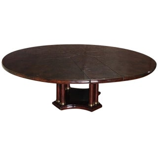 Expandable Circular Dining Table