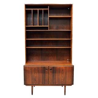 Danish Mid-Century Modern Rosewood Bookcase