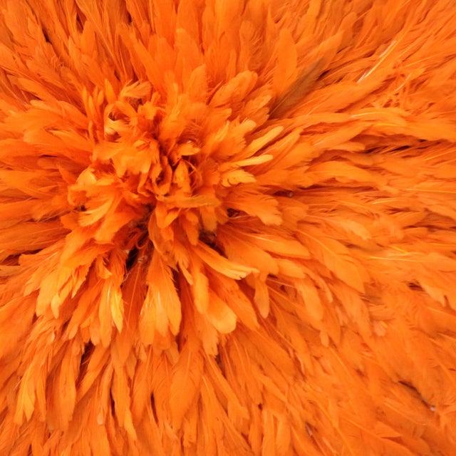 Authentic Tangerine Cameroon Juju Hat - Image 3 of 4
