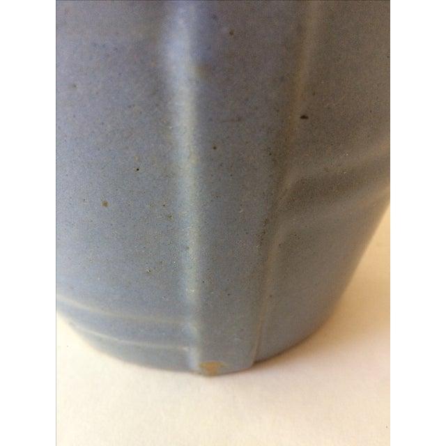 Machine Age Blue-Grey Flower Pot - Image 10 of 11