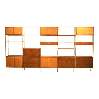 Founders Furniture Company Mid-Century Modern Floating Wall Unit