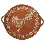 Image of Vintage Portuguese Terracotta Serving Platter