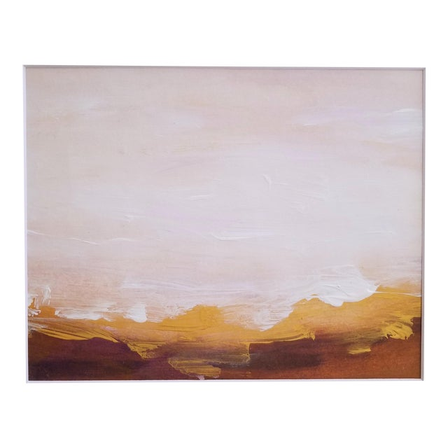 Original Abstract Landscape Painting - Image 1 of 4