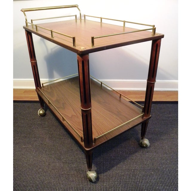 Mid Century Bar Cart or Tea Cart - Image 6 of 7
