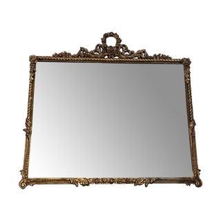 Mid-Century Gold Mirror