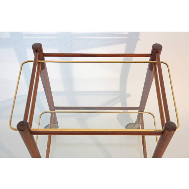 Cees Braakman Teak Searving Cart - Image 2 of 5