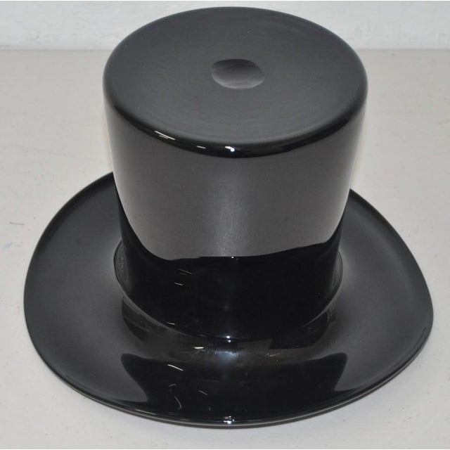 Murano Glass Top Hat - Image 5 of 5