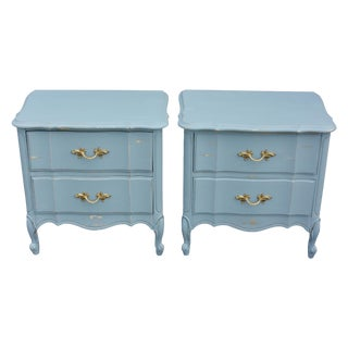 Vintage Two-Drawers Nighstands - Pair