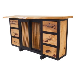 Tamarind Slab Top Cabinet