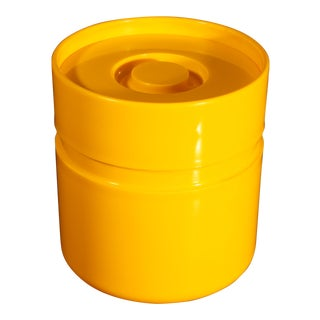 Sergio Asti for Heller Ice Bucket in Sunshine Yellow