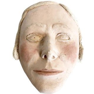 Vintage Terracotta Face Mask