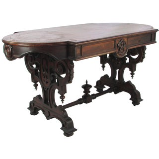 Antique English Walnut Table