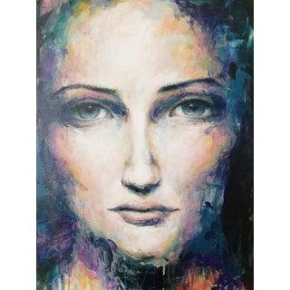 Violet Acrylic on Canvas
