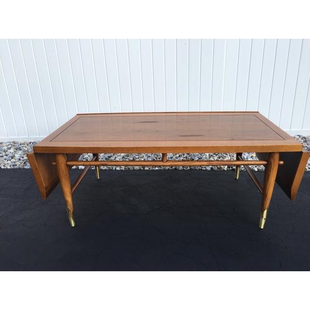 Lane Long Coffee Table: Mid-Century Lane Copenhagen Drop Leaf Coffee Table