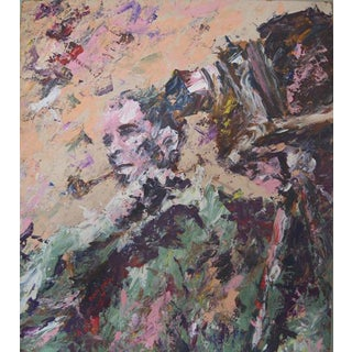 Benze Garza Abstract Expressionist Painting