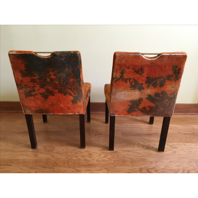 Edward Wormley for Dunbar Side Chairs - A Pair - Image 4 of 7