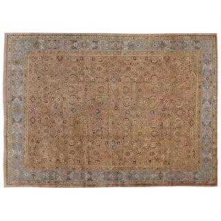 "Vintage Persian Mahal Rug - 10'1"" X 14'0"""