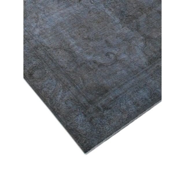 "Image of Grey Vintage Overdyed Rug - 9'3"" X 11'9"""