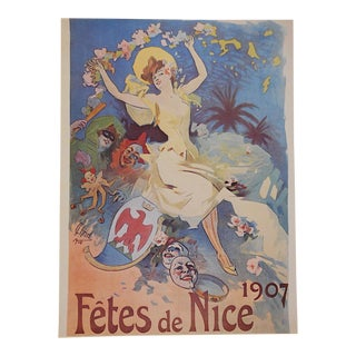 Vintage Poster by Listed Artist - Nice, France