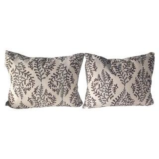 Gailbraith & Paul Block Print Linen Pillows