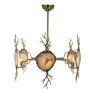 Emporium Home Branch Agate Chandelier