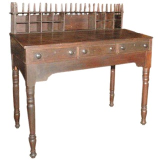 Antique Clerks Desk