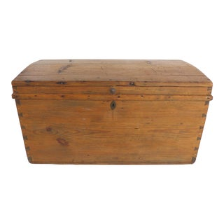 1920's Hand-Made Bavarian Trunk