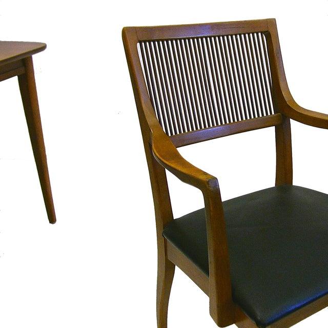 John Van Koert for Drexel Dining Chairs- Set of 8 - Image 4 of 4