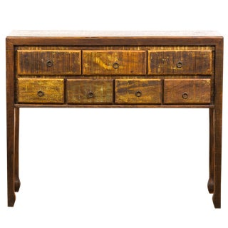 Reclaimed Solid Wood Console Table Moving Sale 30% Off