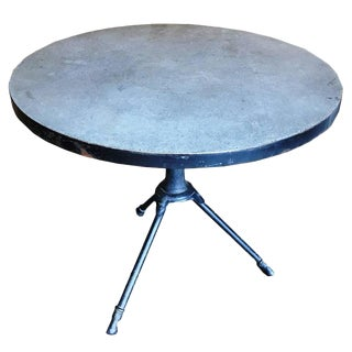 Metal and Concrete Table