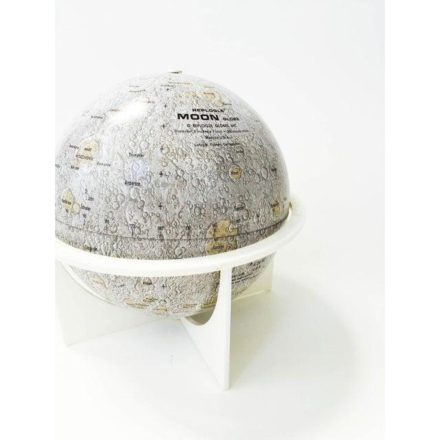Mid-Century Tin Moon Globe - Image 4 of 5