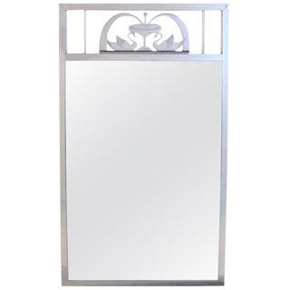 Art Nouveau Swan Mirror