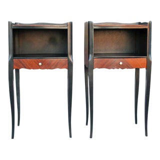 Vintage French Nightstands - A Pair