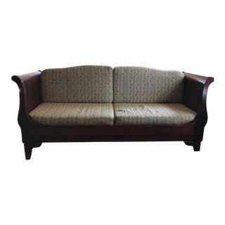 Italian Rosewood Loveseat Sofa