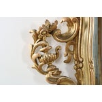 Image of French Louis XV Style Carved Giltwood Antique Mirror